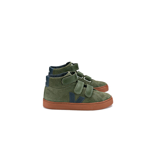 VEJA - ESPLAR MID LEATHER - OLIVE NAUTICO RUST SOLE