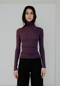 Oba Turtle Neck – Cotton Rib