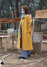 Edwina Hoerl Long Yellow Coat