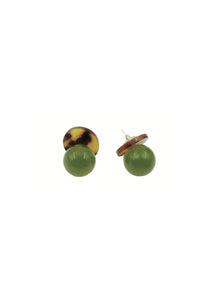 Peeled Grape Earrings