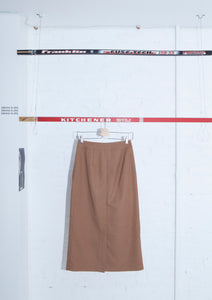 ADER Error Wool Blended Wrap Skirt