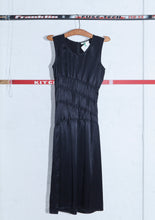 HELMUT LANG Sleeveless Spiral Pleated Dress