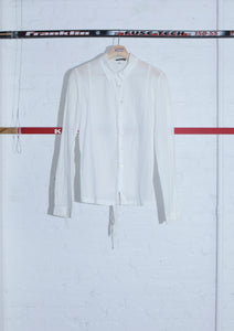 ANN DEMEULEMEESTER Pleated Cut Adjustable Waist Shirt