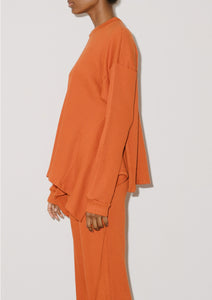 SHAW LONG SLEEVE (Opia Orange)
