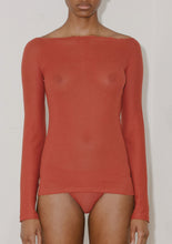 NIDA LONGSLEEVE (Cherry Red)