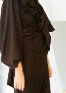 HONDA BLOUSE (Black)