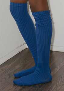 OVERKNEE SOCKS (Blue/Nude/Red)