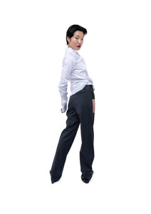 CUT OUT SUIT PANTS