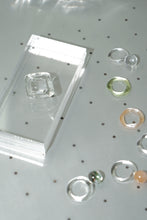 Glass Orb Ring - Clear