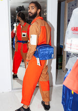 ORANGE PEPPER JUMPSUIT