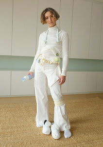GB157 - WOMEN TROUSERS AND FLOUNCE BELT - KIT