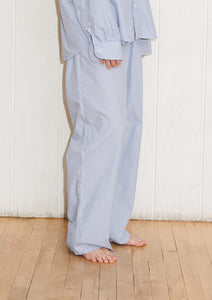 OLE TROUSERS-POPELINE STRIPE