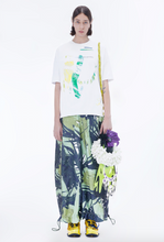 NUTEMPEROR Xenotransplantation Project 0201 - Abstract Print Trousers