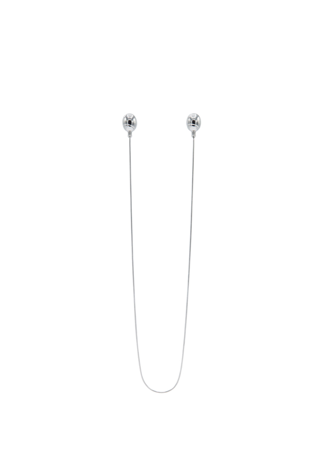 Balloon Earring with Chain