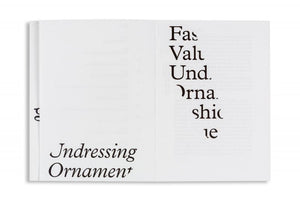 Fashioning Value — Undressing Ornament (2nd edition)
