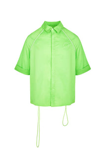(Pre-order, Shipping in late-July) NUTEMPEROR Xenotransplantation Project 009 - Green Drawstring Shirt