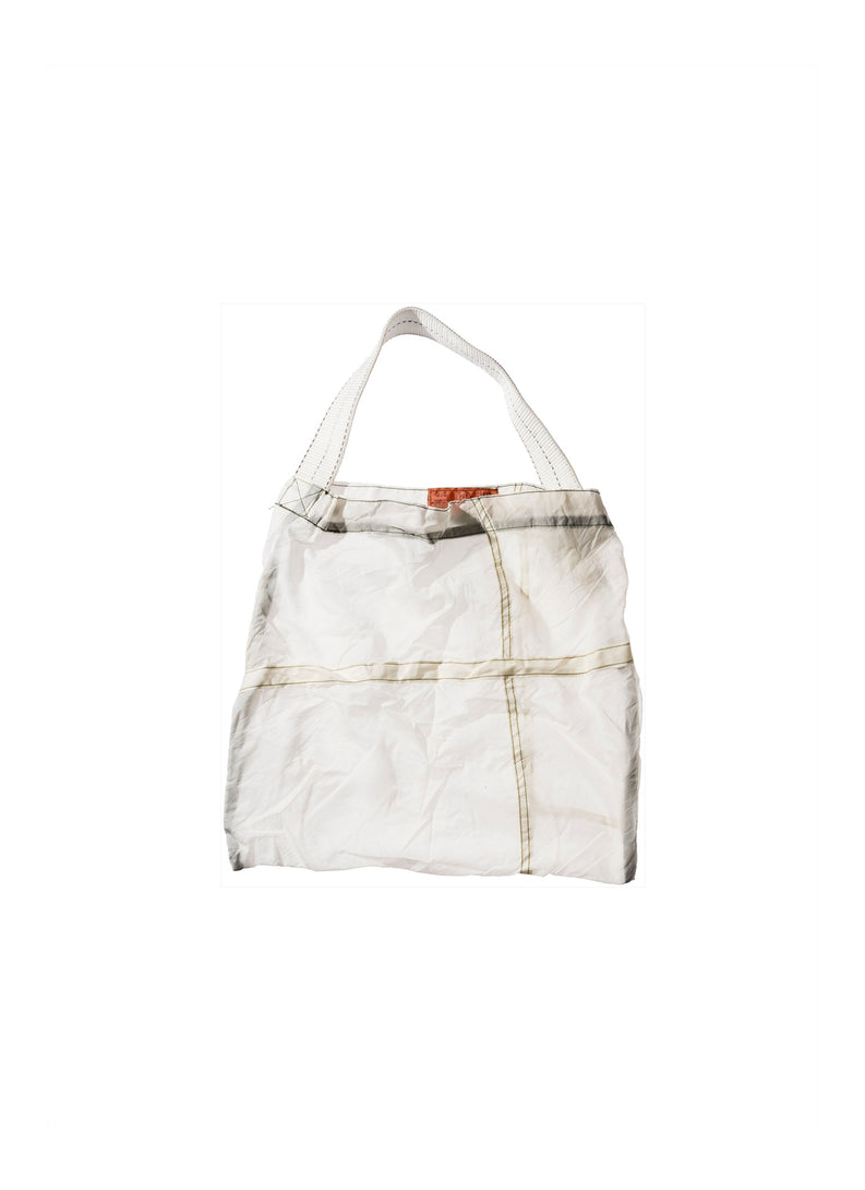 Vintage Parachute White Light Bag