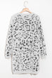 Lbduk Leopard-Print Pocketed Cardigan
