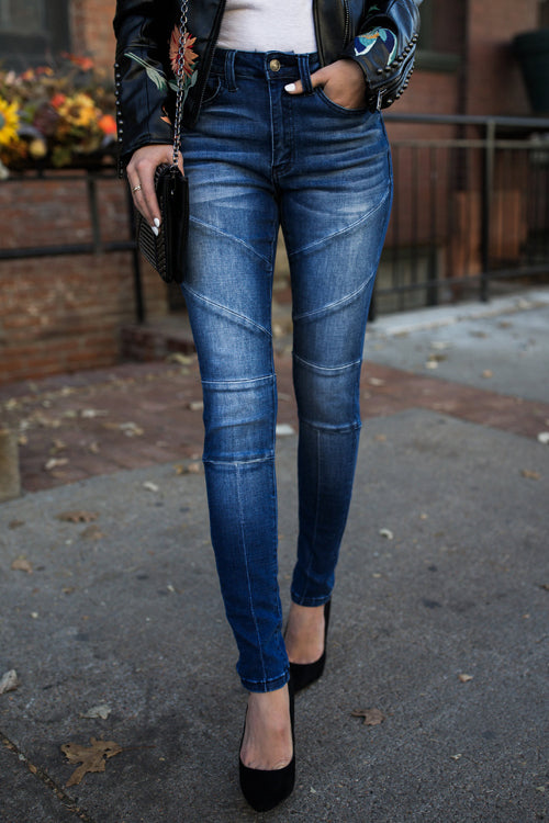 Lbduk Fashion Moto Babe Skinnies Jeans