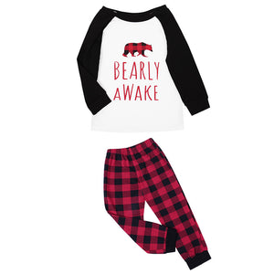 Mother Bear Home Wear Pajamas Parent-child Outfit