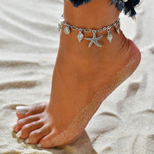 Load image into Gallery viewer, Fashion Vintage Starfish Shell Anklet