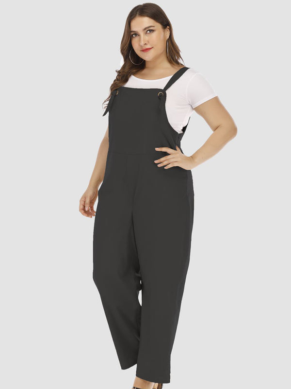 Tuta intera pantaloni casual Plus Size donna casual estate