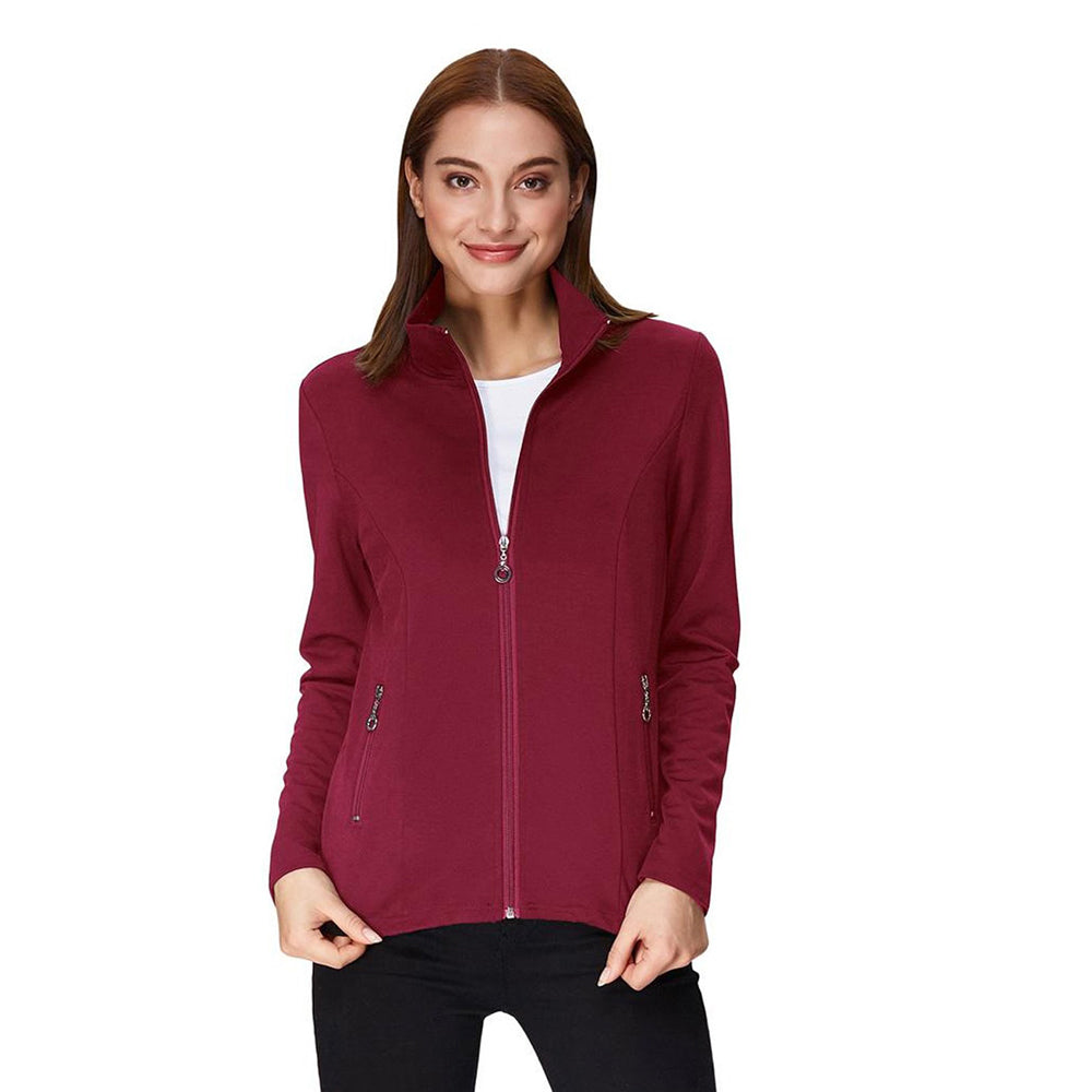 Damen Stylish & Slim Fit Langarm Coat Tops