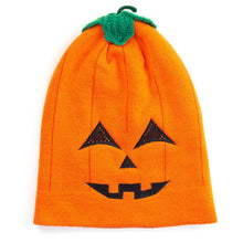 Load image into Gallery viewer, Jack-O-Lantern Beanie Hat & Mask | Adult