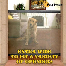 Load image into Gallery viewer, Premium Mesh Magic Pet Gate For Puppy