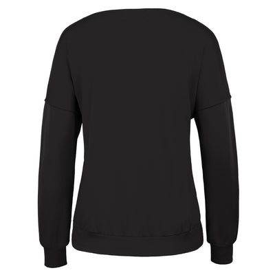 Warm Long Batwing Sleeve Crew Neck Casual T-Shirt Tops