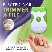 Load image into Gallery viewer, Electric Nail Trimmer & File