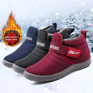 Winter couple fashion cotton boots-50% OFF