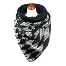 Load image into Gallery viewer, Casual diamond print scarf