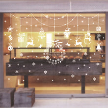Load image into Gallery viewer, PVC Wall Sticker Set Christmas Home Window Shop Display Glass Decoration