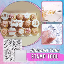 Load image into Gallery viewer, Alphabet Cake Stamp Tool