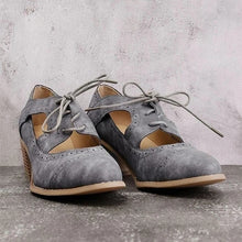 Load image into Gallery viewer, Summer Vintage London Brogue Women Shoes
