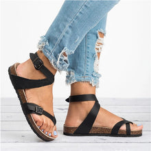 Load image into Gallery viewer, Oversized Platform Sandals With Straps