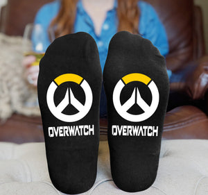 Overwatch Men And Women Casual Sports Printed Cotton Socks