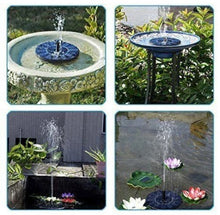 Load image into Gallery viewer, Spring Solar Powered Fountain Pump