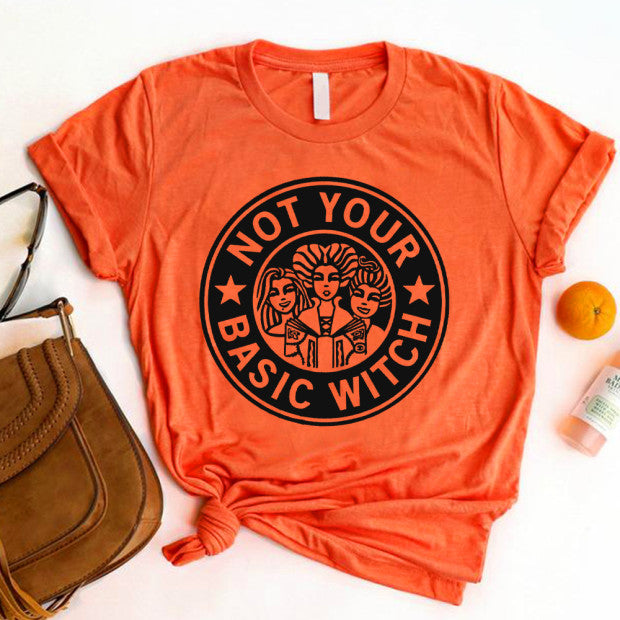Happy Halloween  Not Your Basic Witch Hocus Pocus Sanderson Sisters O-Neck T-Shirts