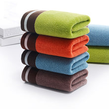 Load image into Gallery viewer, Color Break Soft Absorbent Cotton Towel