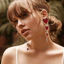 Load image into Gallery viewer, New Fashion Bohemia Love Earrings