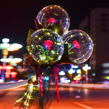 Load image into Gallery viewer, LED Balloon Rose Bouquet