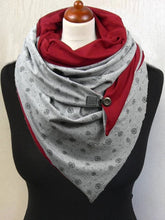 Load image into Gallery viewer, Casual velvet print scarf