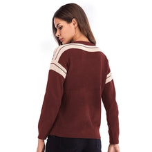 Load image into Gallery viewer, Women's Casual Loose Round Neck Long Sleeve Tops Knitwear Pullover Sweater