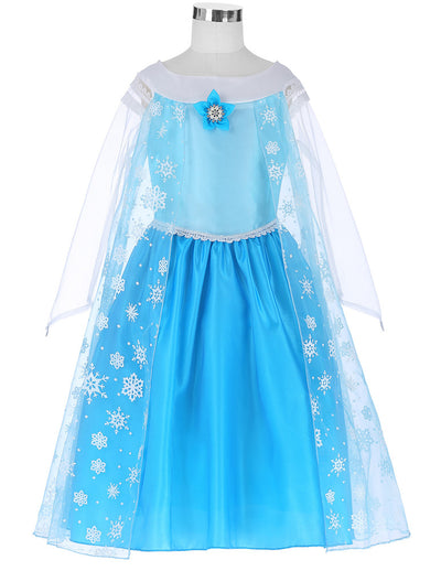 Grace Karin Tulle Round Neck Princess Lace Flower Girl Dress With Flower