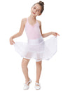 Grace Karin Girl's Two Layers Tiered Retro Vintage Dress Crinoline Underskirt Petticoat_White