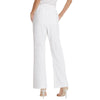 Women's Smocked Waist Elastic Waist Cotton & Linen Pants Trousers