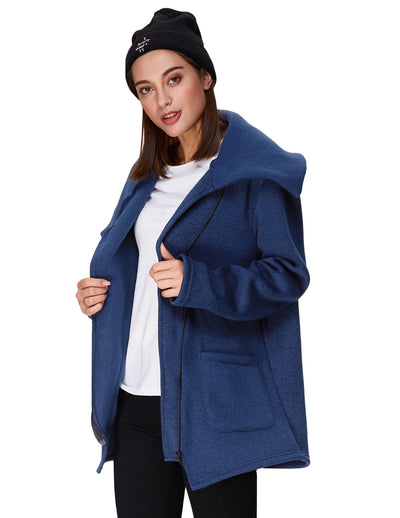 Women's Winter Long Sleeve Knitting Warm Outerwear Coat
