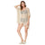 Women's Summer Loose High-Low Free Size Swimwear Cover-up Dress